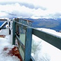 Looking toward the Greenhorn Mountains from the deck of the fire lookout.- Dixie Butte