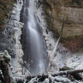 Bulson Creek Falls in December.- Bulson Creek Falls