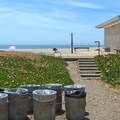 Restrooms are available at Twin Lakes State Beach.- Twin Lakes State Beach