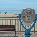 The Main Beach and Boardwalk in Santa Cruz.- Santa Cruz Beach Boardwalk + Main Beach