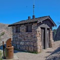 Restrooms are provided at Scout Peak.- Bench Trail to High Peaks Loop
