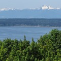 The Puget Sound and Olympic Mountains from Discovery Park.- Discovery Park + Fort Lawton Historic Area