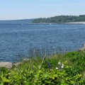 Shilshole Bay and marina to the north.- Discovery Park + Fort Lawton Historic Area