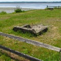 Horeshoe pits in the day use area.- Bay View State Park
