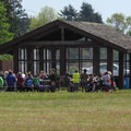 Students on a field trip to the park.- Bay View State Park