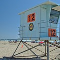 The lifeguard tower, Palm Beach State Park.- Palm Beach State Park