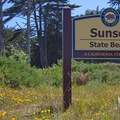 Welcome to Sunset State Beach.- Sunset State Beach