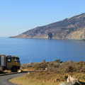 Kirk Creek's Campsites overlook Big Sur's rugged coastline.- Kirk Creek Campground