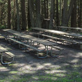 The large group campsite.- Camano Island State Park Campground