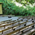 The amphitheater at Camano Island State Park Campground.- Camano Island State Park Campground