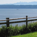 Views of the Puget Sound from the south loop.- Camano Island State Park Campground