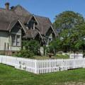 The Hovander House, built in 1903.- Hovander Homestead Park