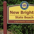 Welcome to New Brighton State Beach.- New Brighton State Beach