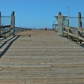 Entry to the wharf.- Seacliff State Beach