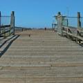 Entry to the wharf.- Seacliff State Beach