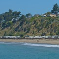 RV Parking at Seacliff State Beach.- Seacliff State Beach