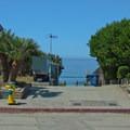 Beach access is through a residential neighborhood.- Beer Can Beach