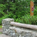 The 0.4-mile Bluff Trail makes up the western portion of the Welcome Center Loop.- Cama Beach State Park Loop Trails