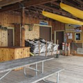 The Center for Wooden Boats offers workshops for toy boat building.- Cama Beach State Park