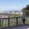 Vista terrace looking northwest.- Buena Vista Park