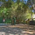 Parking and trailhead area.- Pogonip Trails