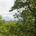 View from Mount Talbert's summit of 745 feet.- Mount Talbert Nature Park