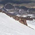 Hotlum-Wintun Ridge descent.- Mount Shasta: Hotlum-Wintun Ridge
