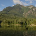 Morning at Big Beaver campsite.- Ross Lake via Diablo Lake