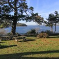 Vista point and picnic area in Tomales Bay State Park.- Tomales Bay State Park
