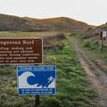 Kehoe Beach Trailhead.- Kehoe Beach