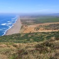 The 12-mile long Point Reyes Beach (also known as Great Beach).- Point Reyes National Seashore