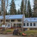 Sierra Hot Spring's Main Lodge and office building.- Sierra Hot Springs