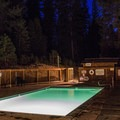The warm pool.- Sierra Hot Springs