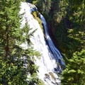 Diamond Creek Falls from main trail viewpoint.- Diamond Creek Falls