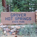 Grover Hot Springs State Park.- Grover Hot Springs State Park