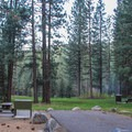 Grover Hot Springs State Park Campground.- Grover Hot Springs State Park