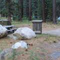 Grover Hot Springs State Park Campground.- Grover Hot Springs State Park Campground