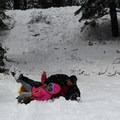 "Fun at the ""warm up"" hill.- Wolverton Meadow Snowplay Area"