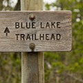 The Blue Lake Trailhead.- Sheep Canyon