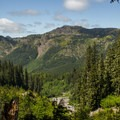 An open view of the Toutle River.- Sheep Canyon