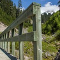 The bridge over Sheep Canyon.- Sheep Canyon