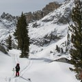 Emerald Lake Basin.- Wolverton to Pear Lake Ski Hut