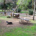 Potwisha Campground in Sequoia National Park.- Potwisha Campground