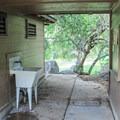 Exterior sink station.- Potwisha Campground