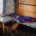 1 of 10 hut bunks.- Pear Lake Ski Hut