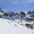 Terrain above Pear Lake Basin.- Winter Alta Backcountry Ski