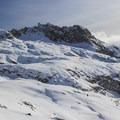 Neighboring Alta Peak. - Winter Alta Backcountry Ski