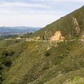 Mount Diablo State Park's South Gate Road, one of two main entrances to the park.- Mount Diablo State Park