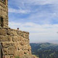 Mount Diablo's summit building.- Mount Diablo Summit