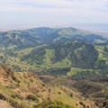 The view south.- Mount Diablo Summit